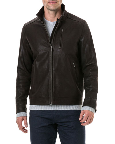 Men's Westhaven French Leather Jacket
