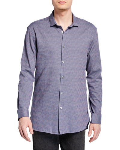 Men's Ashten Star Wire-Collar Sport Shirt
