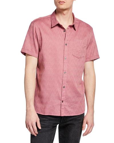 Men's Clyde Short-Sleeve Sport Shirt