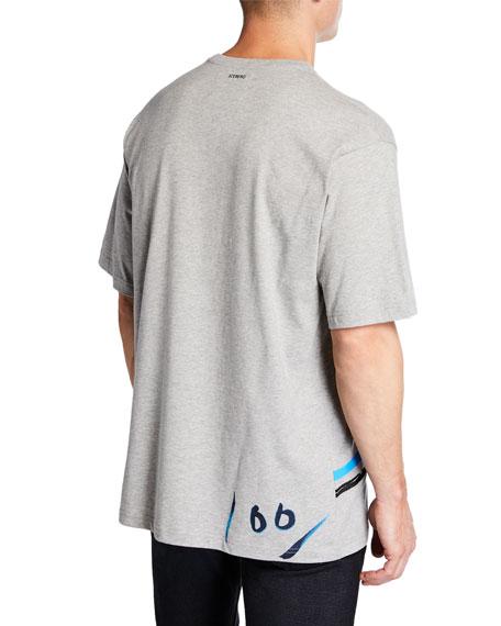 Iceberg Men's Brushstroke Snoopy Graphic T-Shirt