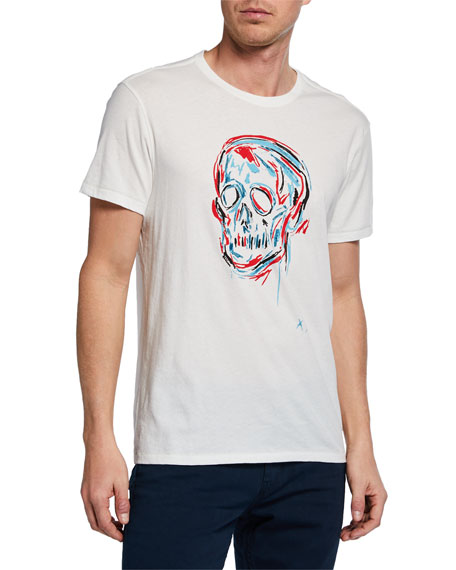 John Varvatos Star USA Men's Color Skull Graphic