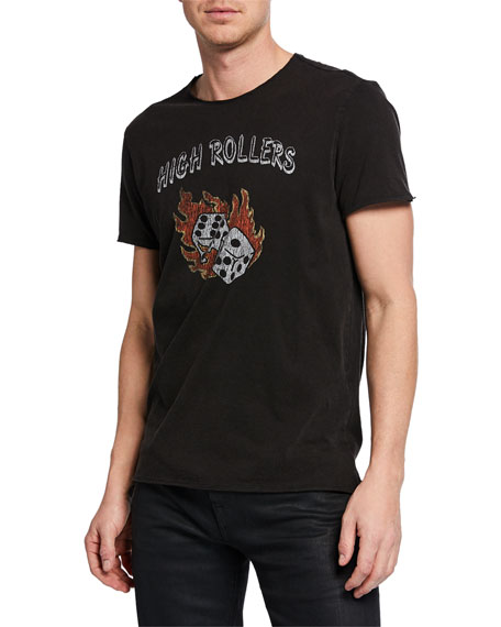 John Varvatos Star USA Men's High Rollers Graphic