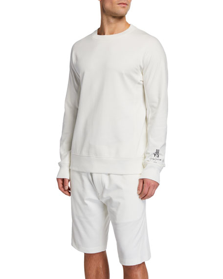 Men's Classic Crewneck Sweatshirt by Y 3