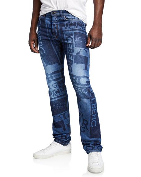 Iceberg Men's Logo Denim Jeans