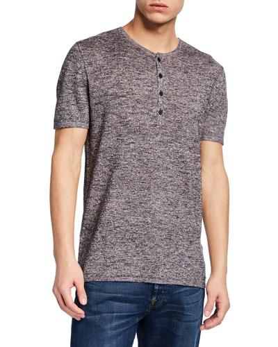 Men's Rhys Short-Sleeve Henley Shirt