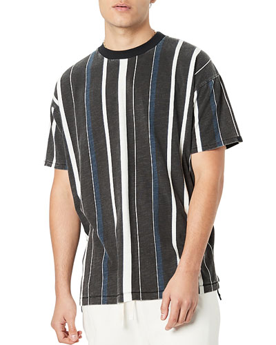 Men's Triumvirate Striped Box T-Shirt