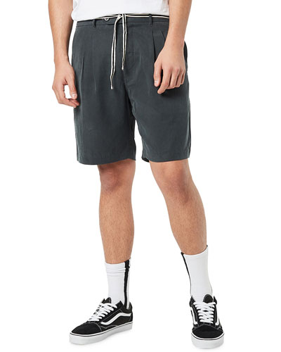 Men's Tailo Pleated Soft Shorts