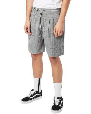 d138e4a50d Zanerobe Men's Tailo Pleated Plaid Soft Shorts