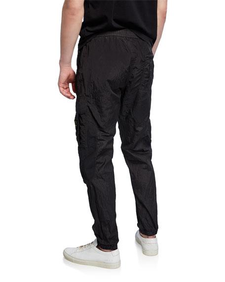 Stone Island Men's Nylon Cargo Tapered Pants