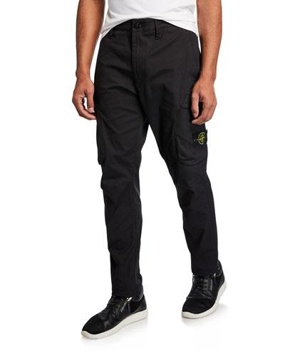 Men's Modern Nylon Cargo Pants