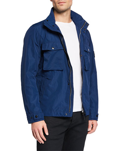 Men's Solid Field Jacket