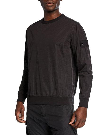 Stone Island Men's Nylon Crewneck Sweatshirt