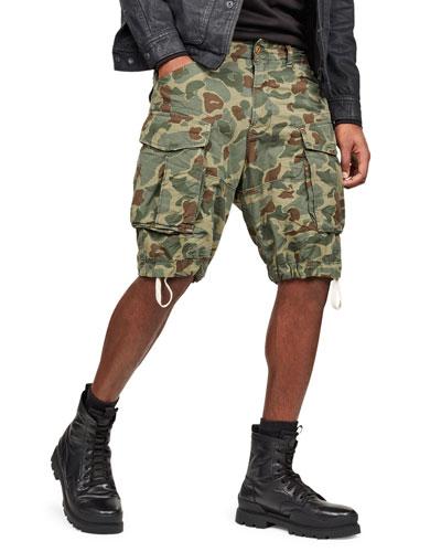 Men's Rovic Relaxed Camo Cargo Shorts
