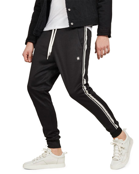 G-Star Pants MEN'S ALCHESAI SLIM-TAPERED TRACK PANTS
