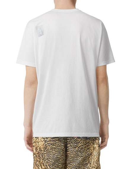 Burberry Men's Graphic Crewneck T-Shirt