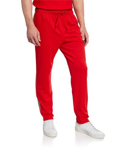Men's Sorrento Drawstring-Waist Pants  Bright Red