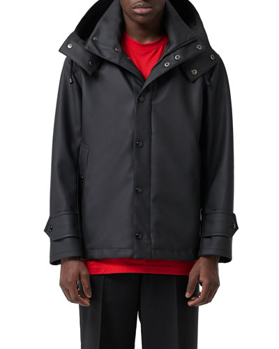 Men's Hastings Hooded Coat w/ Water-Resistant Coating