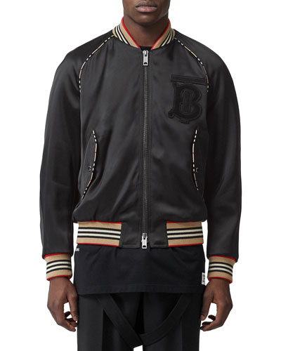 Men's Harlington Knit Bomber Jacket