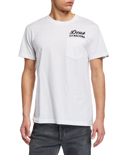Men's Venice Typographic Pocket T-Shirt