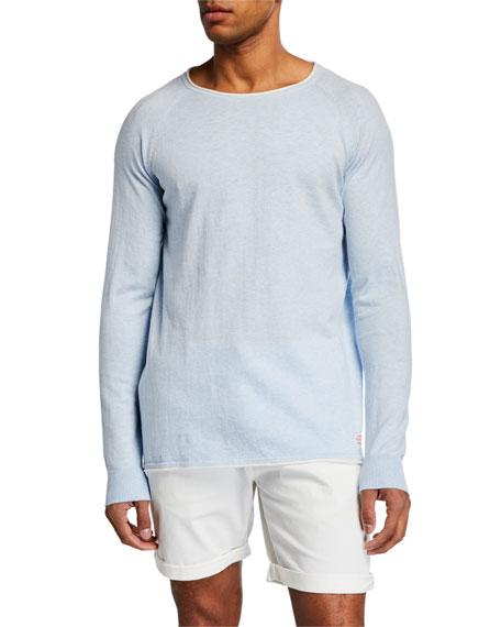 Scotch & Soda Sweaters MEN'S CASHMERE-BLEND RAGLAN-SLEEVE SWEATER