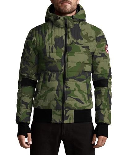 Men's Cabri Quilted Hoodie Jacket