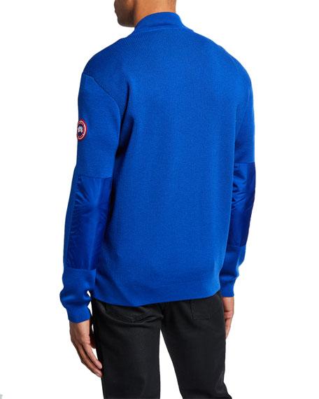 Canada Goose Men's Windbridge Full-Zip Wool Sweater