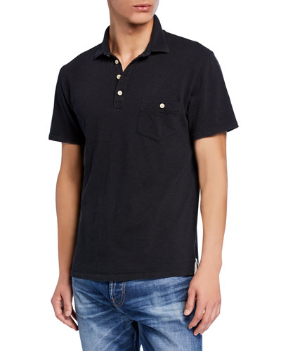 Men's Boxer 4-Button Polo Shirt