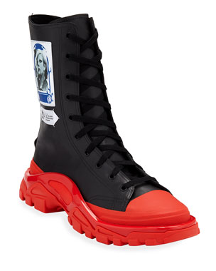 95db4fc78 adidas by Raf Simons Men s RS Detroit High Boot Sneakers