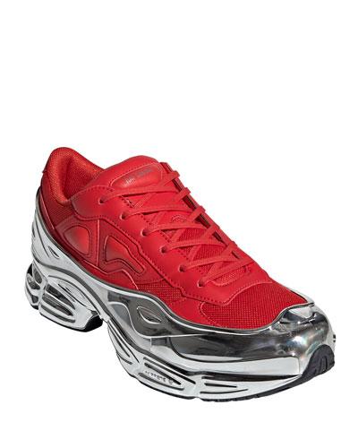 Men's Ozweego Extra-Chunky Metallic Dad Sneakers