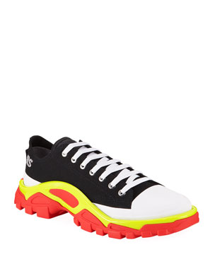 abe64e205 adidas by Raf Simons Men s Detroit Runner Canvas Sneakers