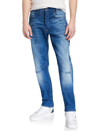 Men's D-Staq Rode Rip Tapered Jeans