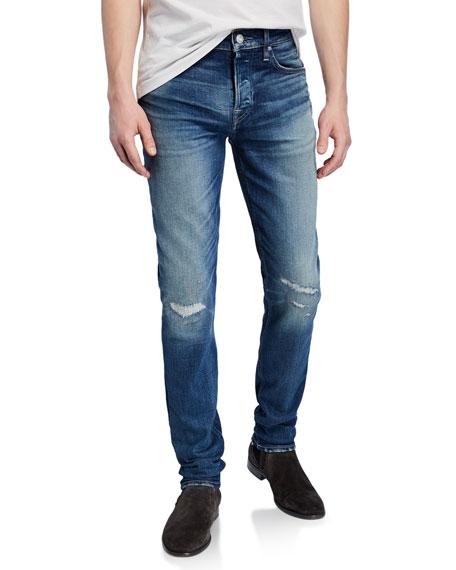 Hudson Jeans MEN'S AXL SKINNY FIT DENIM JEANS