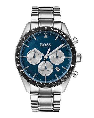Men's Trophy Chronograph Watch with Bracelet