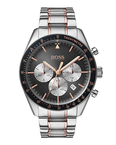 Men's Trophy Chronograph Bracelet Watch