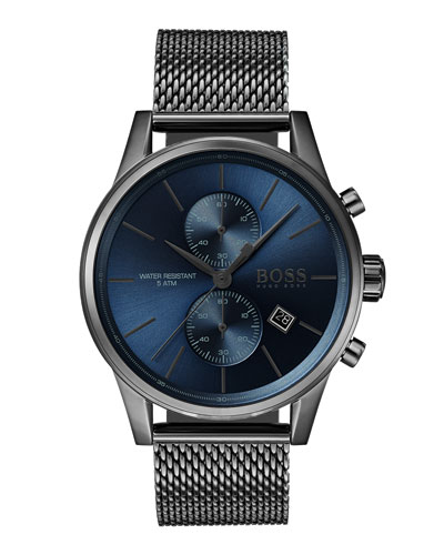 Men's Jet Chronograph Bracelet Watch