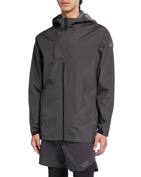 Emporio Armani Men's Ventus 7 Hooded Zip-Front Jacket