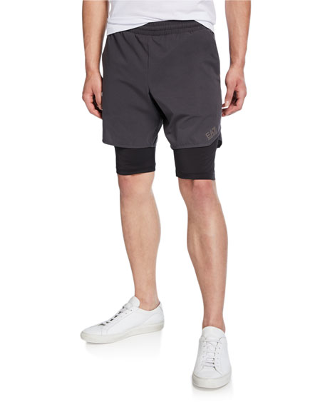 Emporio Armani Men's Ventus Active Shorts