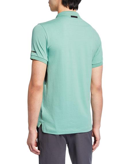 Emporio Armani Men's Green Club Polo Shirt