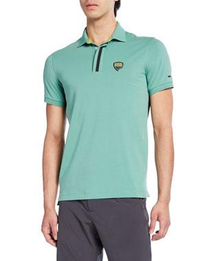 667e60efc Emporio Armani Men s Green Club Polo Shirt