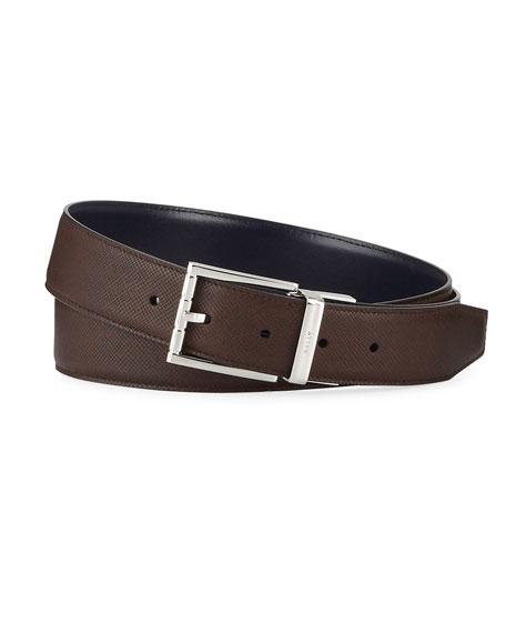 Bally Men's Astor 35mm Leather Belt