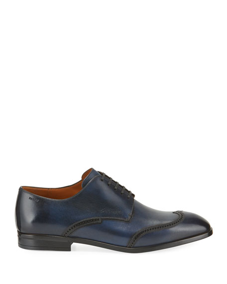 Bally Men's Liniz Wing-Tip Derby Shoes