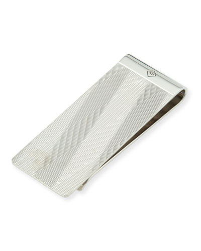 Embossed Beam-Pattern Money Clip