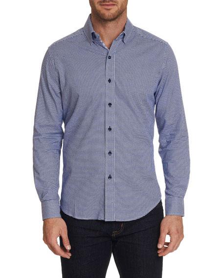 Robert Graham Shirts MEN'S ALABASTER GRAPHIC CHECK SPORT SHIRT