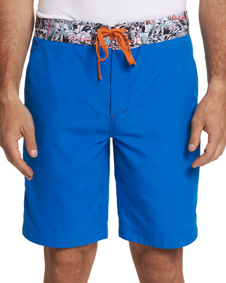 Robert Graham Pants MEN'S CAPTAIN GOOD SWIM TRUNKS