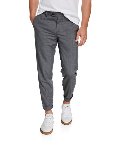 Men's 5-Pocket Wool Pants