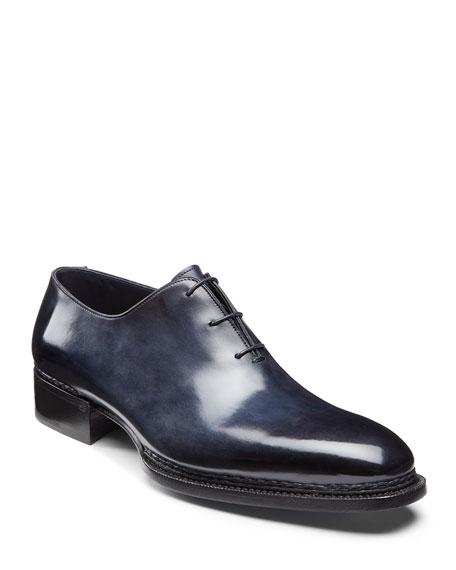 Santoni Shoes Men's Ribona Limited Lace-Up Dress Shoes
