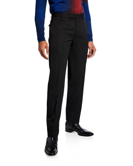Berluti Pants MEN'S VIRGIN WOOL TAPERED PANTS