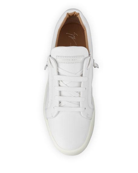 Giuseppe Zanotti Men's Updated Double-Zip Low-Top Sneakers