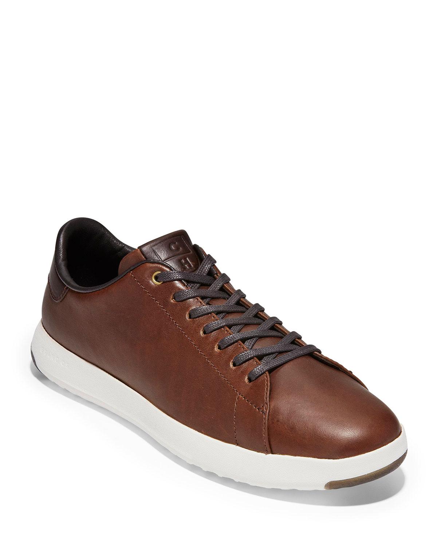 Men's GrandPro Leather Tennis Sneakers