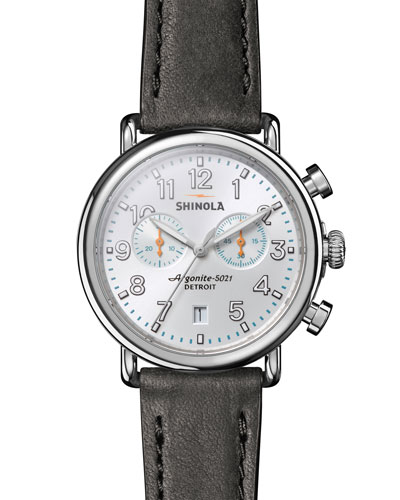 Men's 41mm Runwell Chronograph Watch
